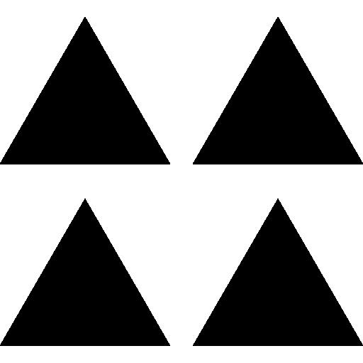 Triangles  free icon