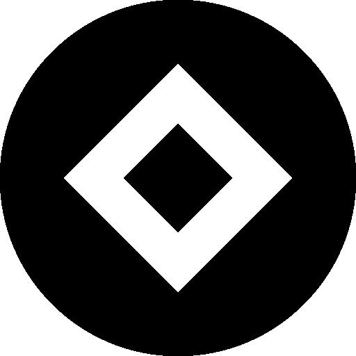 Rhombus  free icon