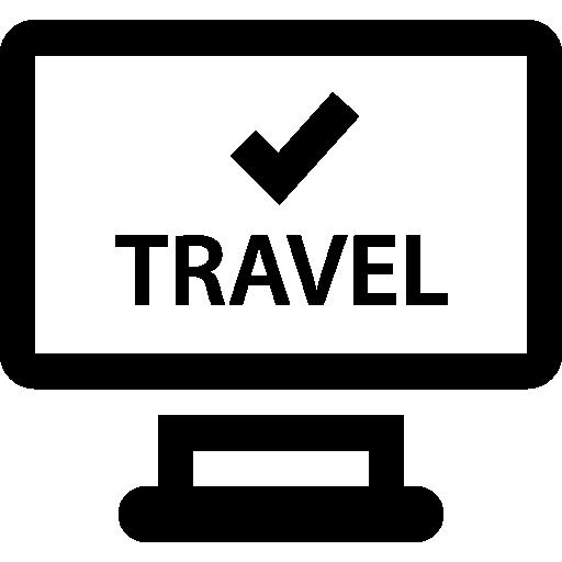 Travel agency  free icon