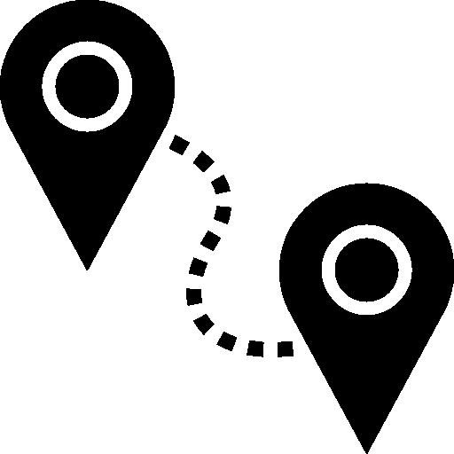Route  free icon