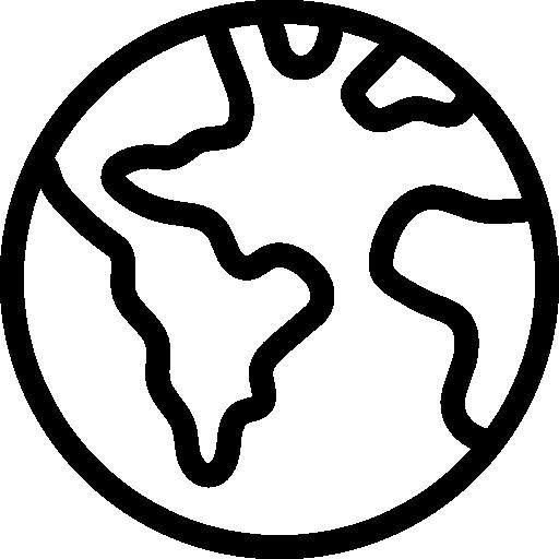 Planet earth  free icon