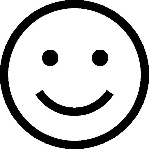 felicidad  icono gratis