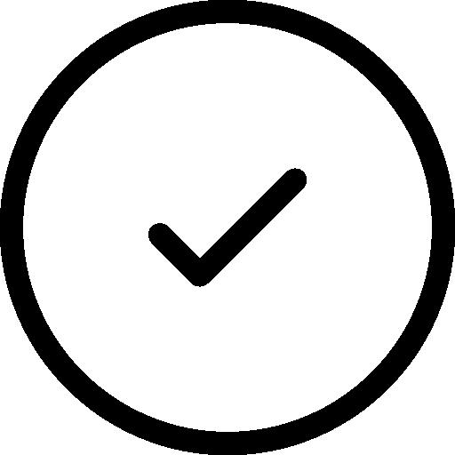 Checked  free icon
