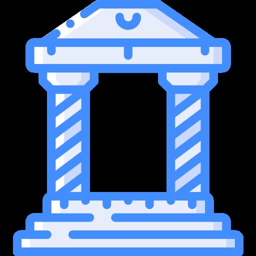 Templo grego  grátis ícone