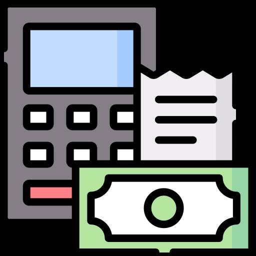 Presupuesto  icono gratis