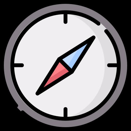 Brújula  icono gratis