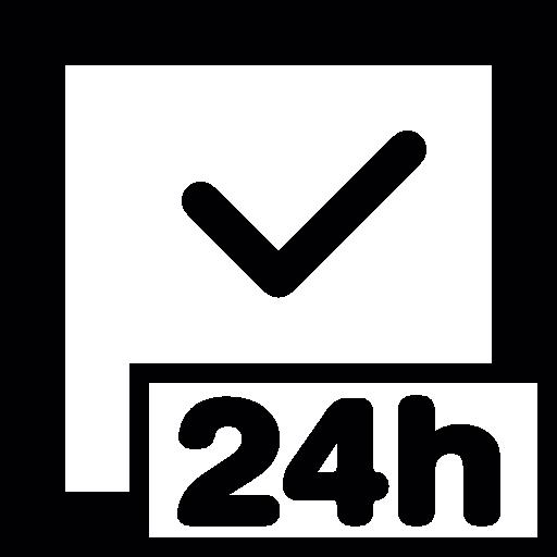 Twenty Four Hours Clock  free icon