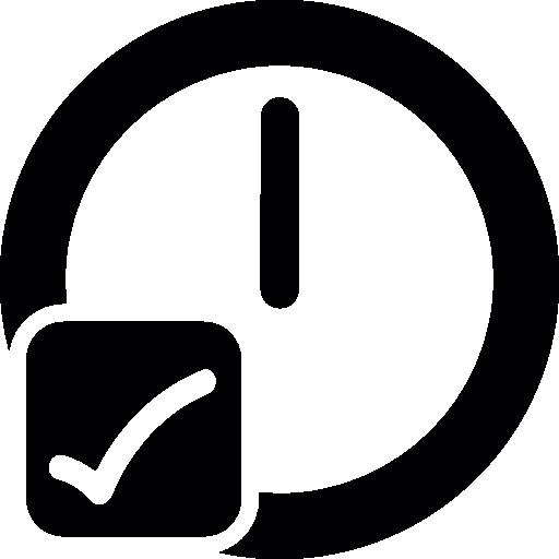contrôle du temps  Icône gratuit