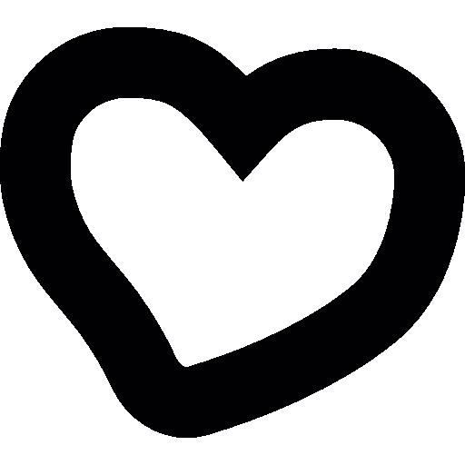 Нарисуйте сердце  бесплатно иконка