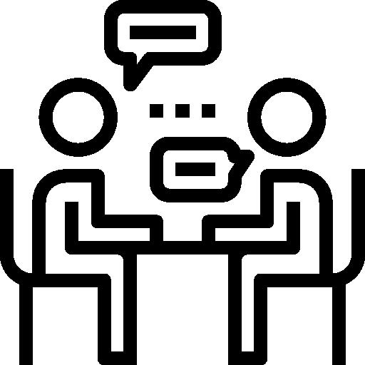 entrevista  icono gratis