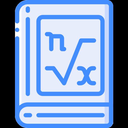Книга по математике  бесплатно иконка