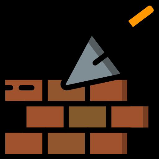 pared de ladrillo  icono gratis