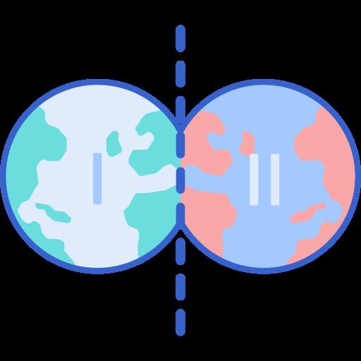 Universo paralelo  grátis ícone