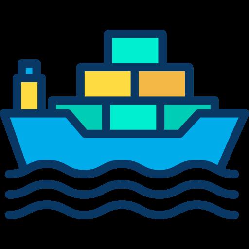 Ship  free icon
