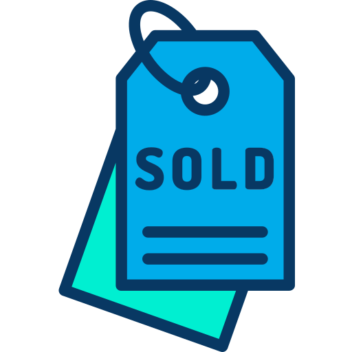 Sold  free icon