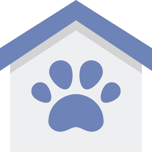 애완 동물 하우스  무료 아이콘