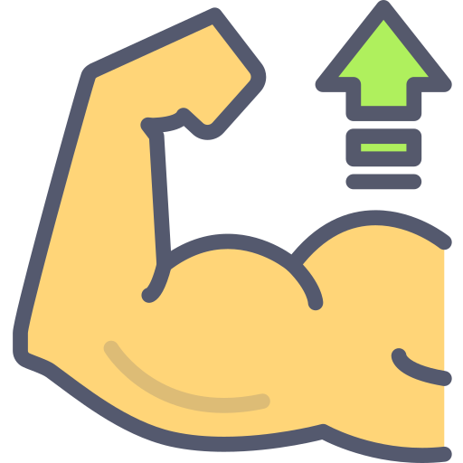 Muscle  free icon