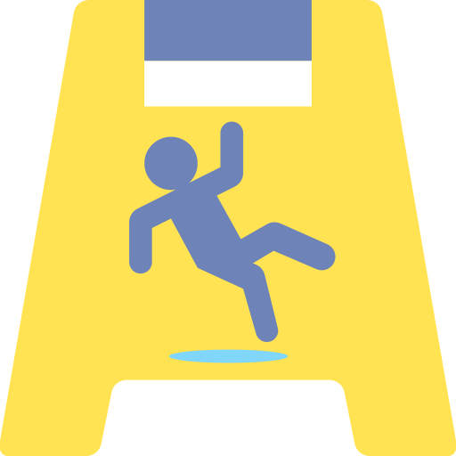 Wet floor  free icon