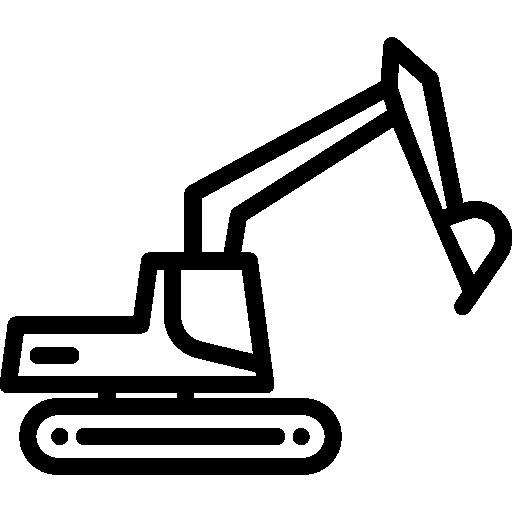 Excavator  free icon