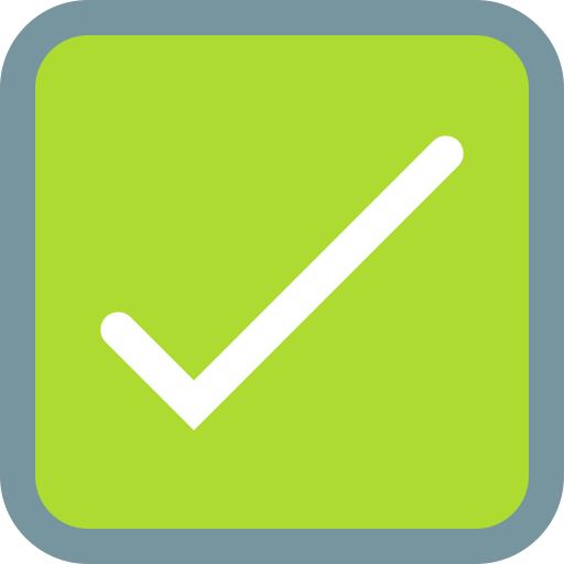 Checkbox  free icon