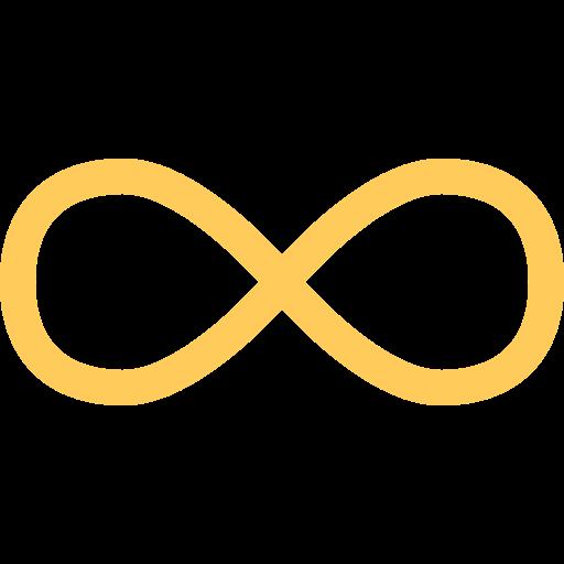Infinite  free icon