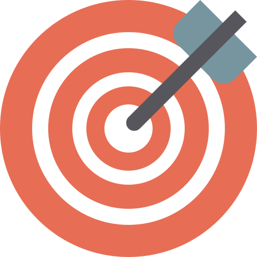 Objective  free icon