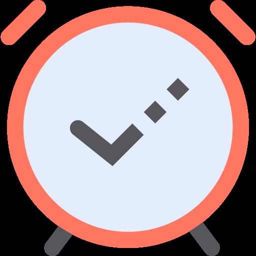 Alarm on  free icon