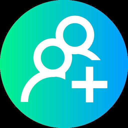 Adicionar grupo  grátis ícone
