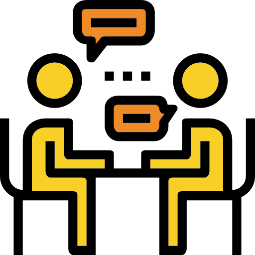 Interview  free icon