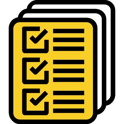 서류  무료 아이콘