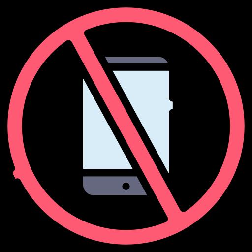 No phone  free icon