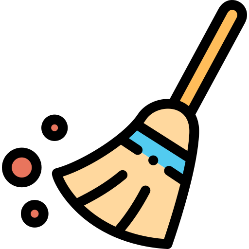 Broom  free icon
