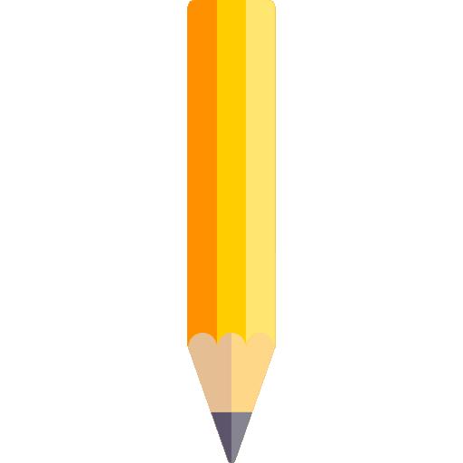 Pencil  free icon