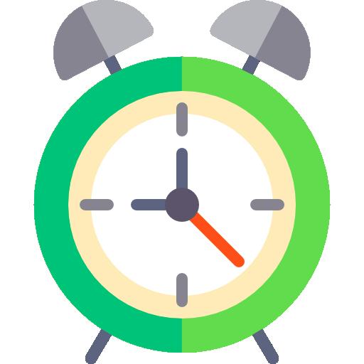 Alarm clock  free icon
