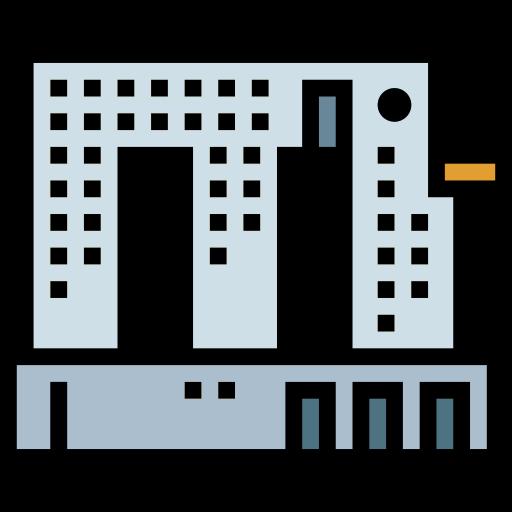 코끼리 빌딩  무료 아이콘