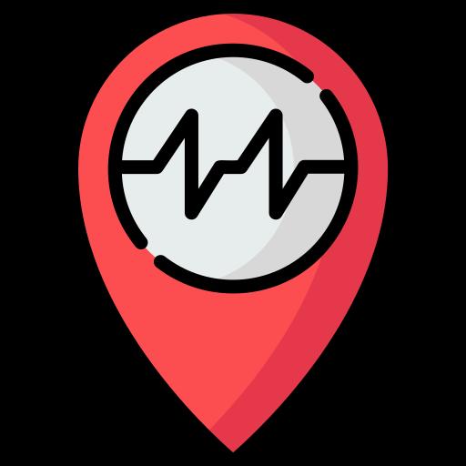 Earthquake  free icon