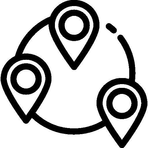 Локации  бесплатно иконка