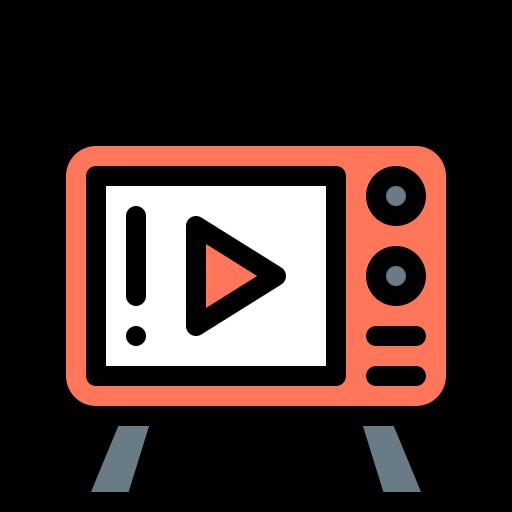 Смотря телевизор  бесплатно иконка