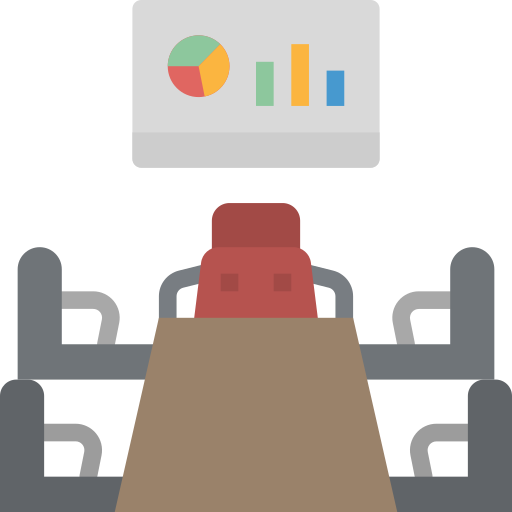 salle de réunion  Icône gratuit