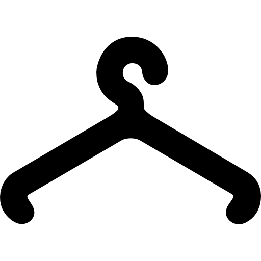 Clothes hanging tool  free icon