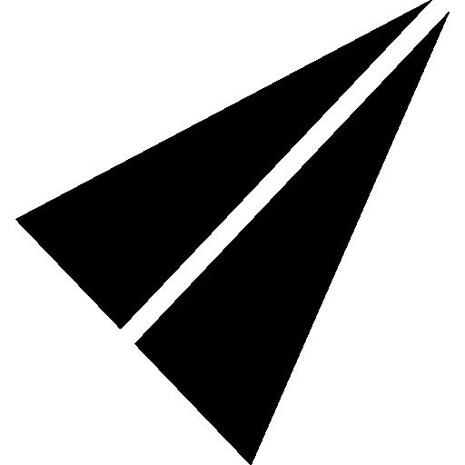 종이 접기 비행 비행기  무료 아이콘