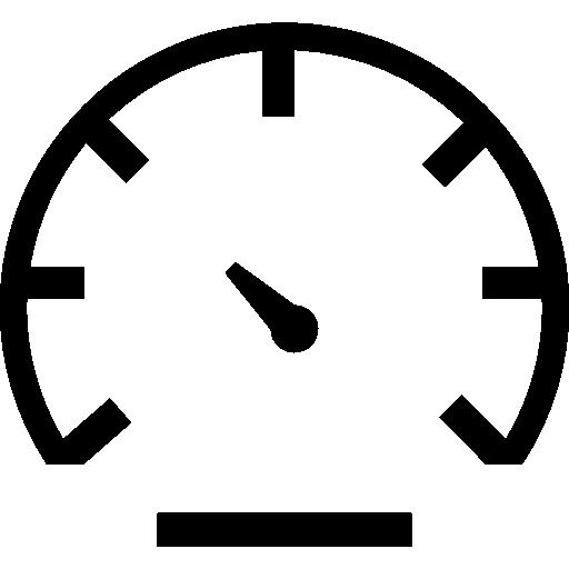 Vehicle speedometer  free icon