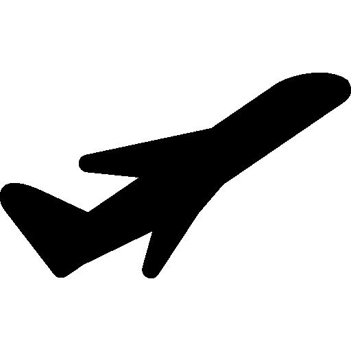 Plane taking off  free icon