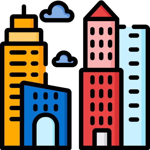 Architecture and city  free icon
