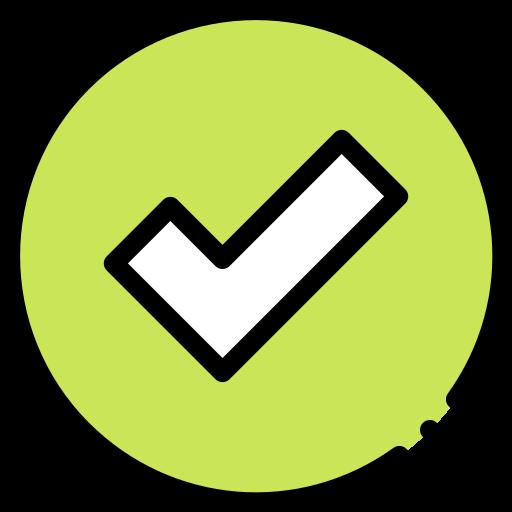 Check mark  free icon