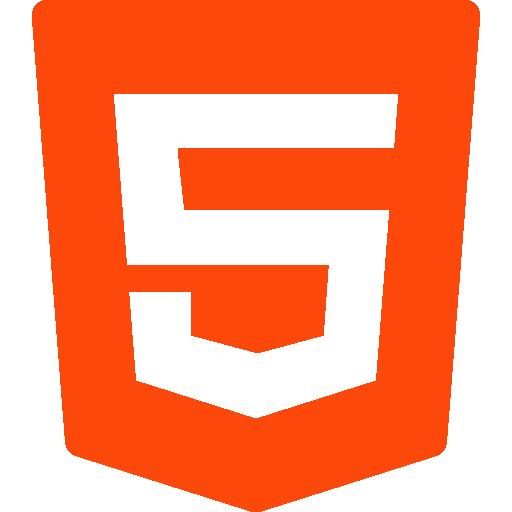 html 5  icono gratis