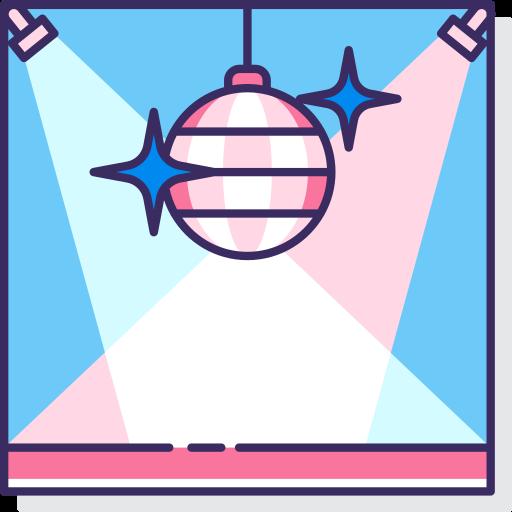 День рождения и вечеринка  бесплатно иконка