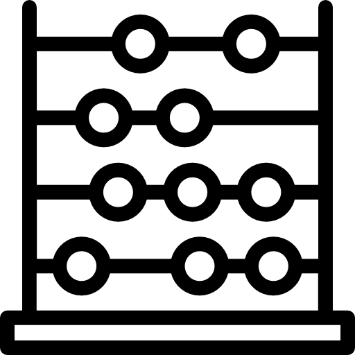 Abacus  free icon