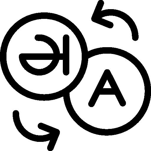 traducción  icono gratis