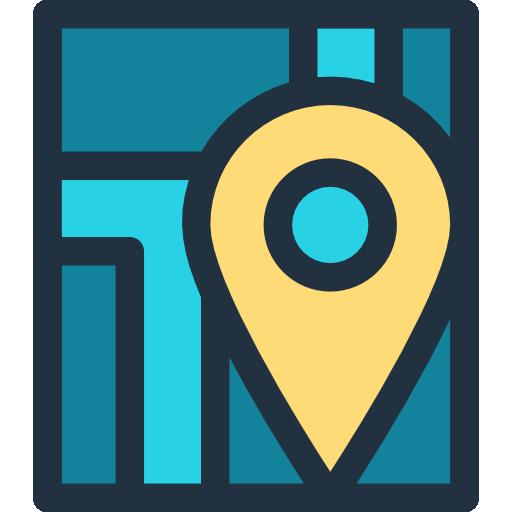 지도  무료 아이콘